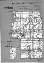 Carroll County Index Map 001, Carroll and White Counties 1991