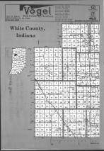 White County Index Map 001, Carroll and White Counties 1991