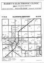 Ellsworth T15S-R8W, Ellsworth County 1991