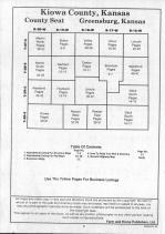 Table of Contents, Kiowa County 1991