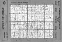 Index Map, Nemaha County 1991