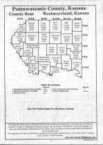 Table of Contents, Pottawatomie County 1990