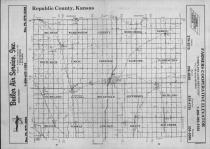 Index Map, Republic County 1990 Published by Farm and Home Publishers, LTD