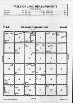 Washington T1S-R4W, Republic County 1990 Published by Farm and Home Publishers, LTD