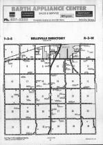 Belleville T3S-R3W, Republic County 1990 Published by Farm and Home Publishers, LTD