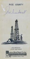 Front Cover, Rice County 1958