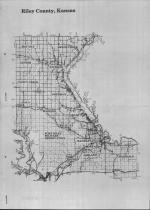 Index Map, Riley County 1990