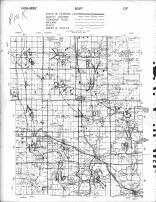Becker County Highway Map 1, Becker County 1964