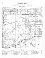 Carsonville Township, Bottomless Lake, Mud Lake, Elbow Lake, Becker County 1964