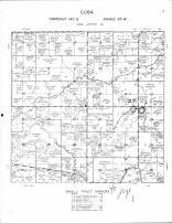 Cuba Township, Stinking Lake, Hay Creek, Buffalo River, Becker County 1964