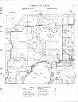 Height of Land Township 1, National Wildlife Refuge, Pine Lake, Skunk Lake, Mud Lake, Becker County 1964