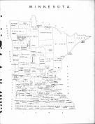 Minnesota State Map, Becker County 1964
