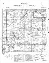 Richwood Township, Campbell Lake, Fish Lake, Westbury, Becker County 1964