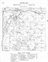 Round Lake Township 2, Medicine Lake, Squaw Lake, Basswood, Lake of the Valley, Becker County 1964