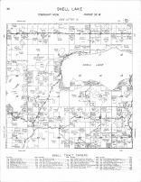 Shell Lake Township, Island Lake, Mud Lake, Becker County 1964