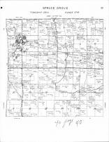 Spruce Grove Township, Kettle River, Red Eye River, Mud Lake, Wolf Lake, Becker County 1964