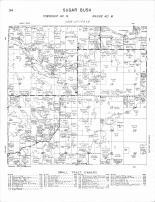 Sugar Bush Township 1, Eagen Lake, Fish Lake, Becker County 1964