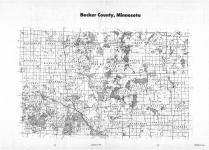 Index Map, Becker County 1987