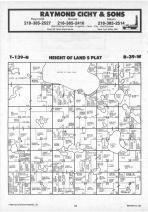 Height of Land T139N-R39W, Becker County 1987