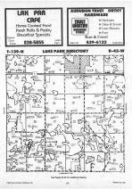 Map Image 077, Becker County 1987