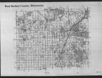 Index Map, Becker County 1989 Published by Farm and Home Publishers, LTD