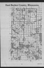 Index Map 2, Becker County 1989 Published by Farm and Home Publishers, LTD