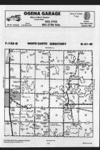 White Earth T142N-R41W, Becker County 1989 Published by Farm and Home Publishers, LTD