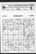 Two Inlets T141N-R36W, Becker County 1989 Published by Farm and Home Publishers, LTD