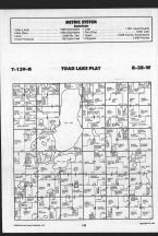 Toad T139N-R38W, Becker County 1989 Published by Farm and Home Publishers, LTD
