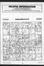 Sugar Bush T141N-R40W, Becker County 1989 Published by Farm and Home Publishers, LTD