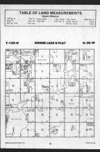 Round Lake T142N-R38W, Becker County 1989 Published by Farm and Home Publishers, LTD