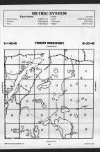 Round Lake T142N-R37W, Becker County 1989 Published by Farm and Home Publishers, LTD