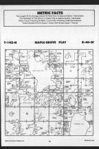 Maple Grove T142N-R40W, Becker County 1989 Published by Farm and Home Publishers, LTD