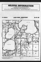Lake View T138N-R41W, Becker County 1989 Published by Farm and Home Publishers, LTD