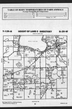 Height of Land T139N-R39W, Becker County 1989 Published by Farm and Home Publishers, LTD