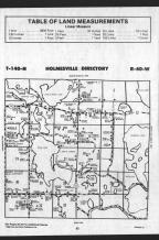 Holmesville T140N-R40W, Becker County 1989 Published by Farm and Home Publishers, LTD