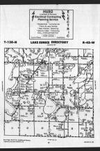 Lake Eunice T138N-R42W, Becker County 1989 Published by Farm and Home Publishers, LTD