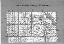 Index Map - Above Right, Becker County 1990