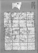Index Map - East, Becker County 1990