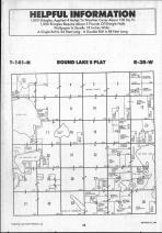 Round Lake T141N-R38W, Becker County 1990