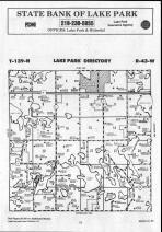 Map Image 076, Becker County 1990