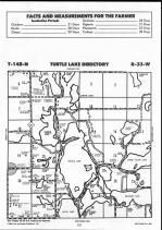 Turtle Lake T148N-R33W, Beltrami County 1990
