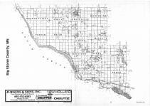 Index Map, Big Stone County 1987