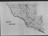 Index Map, Big Stone County 1989