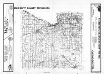 Index Map, Blue Earth County 1987