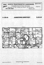 Jamestown T109N-R25W, Blue Earth County 1988