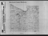 Index Map, Blue Earth County 1989