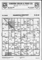 Prairieville T110N-R33W, Brown County 1990 Published by Farm and Home Publishers, LTD