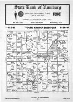 Young America T115N-R26W, Carver County 1987 Published by Farm and Home Publishers, LTD
