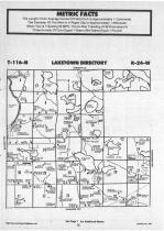 Laketown T116N-R24W, Carver County 1987 Published by Farm and Home Publishers, LTD